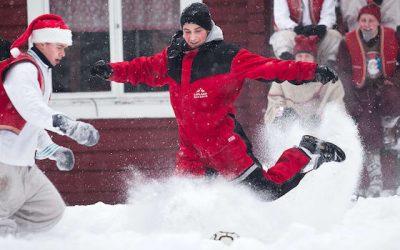 圣诞老人足球俱乐部,桑拿文化和可持续发展:世界媒体中的芬兰