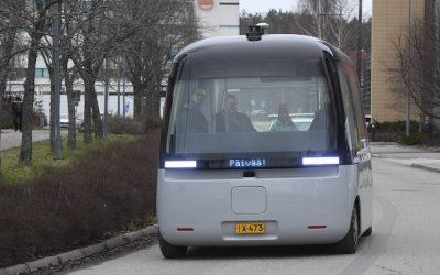 """埃斯波市的机器人巴士获伦敦设计博物馆""""最佳设计""""奖"""