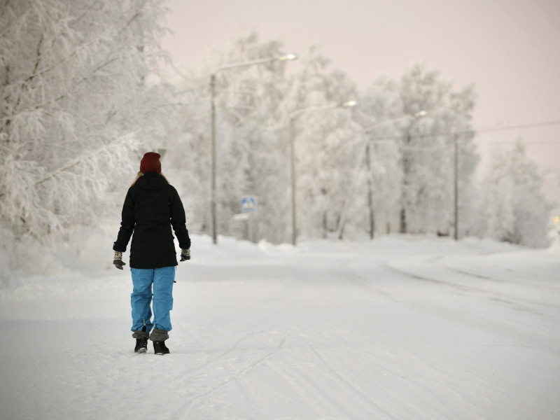 People in northern parts of Finland should brace themselves for temperatures as low as -35°C, writes YLE. (Aku Häyrynen – Lehtikuva)