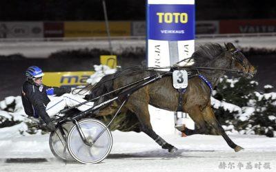 一名赫尔辛基男子赢得190万的赌马博彩奖金,为芬兰有史以来第二高