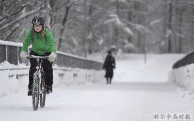 世界看芬兰:冬季自行车天堂、邻国批评芬兰新的入境限制、北极圈内的无人驾驶、Wolt正在成为芬兰的亚马逊、荷兰向芬兰购买风能发电