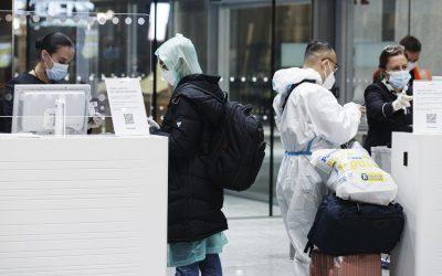 赫尔辛基万塔机场开始对入境芬兰的旅客进行大规模检测