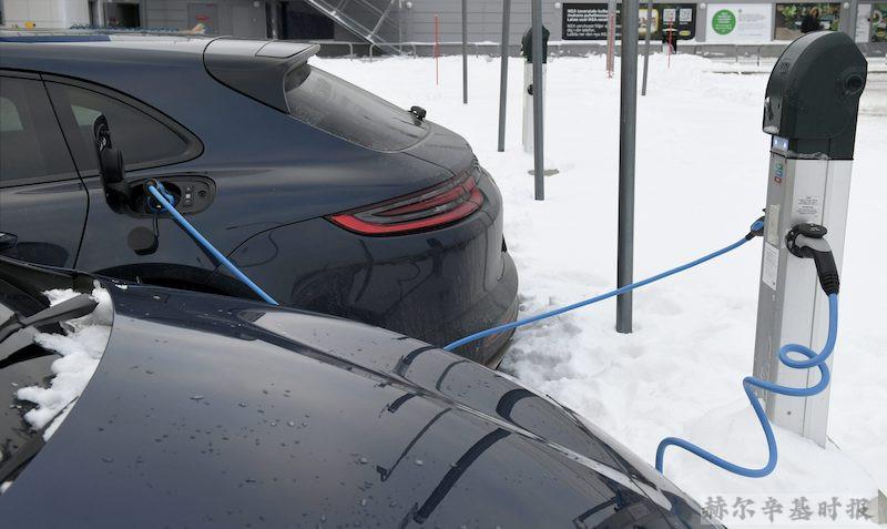 五分之一的芬兰人希望拥有一辆混合动力或电动汽车