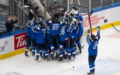 芬兰小将获得冰球世青赛铜牌