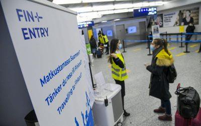 芬兰政府将入境限制延长至2月9日,并启用FINENTRY帮助旅客更加容易的入境芬兰