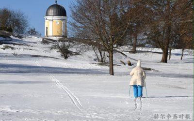 滑雪时前方有摔倒的小孩怎么办?一位滑雪者在绕过去时被孩子的父亲一拳打倒