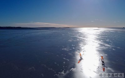 冰上冲浪在芬兰越来越流行