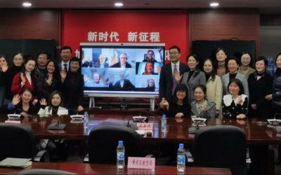 新冠疫情不再是国际合作的阻碍!埃斯波与上海的高中开展了虚拟合作论坛