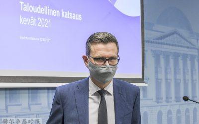 芬兰财政部预测芬兰2021年经济将实现强劲增长