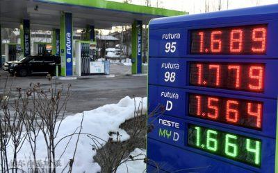 芬兰已经进入通货膨胀,汽油、烟草、住房和浆果的价格正在迅速上涨