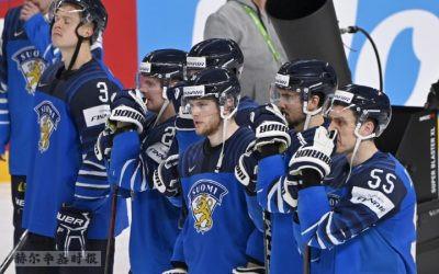 图片新闻:2021冰球世界锦标赛决赛,芬兰以2-3负于加拿大