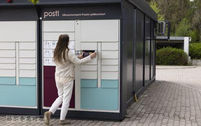 芬兰邮政局推出新的户外包裹柜