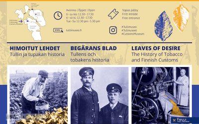 芬兰海关博物馆重新开放,将展出芬兰的烟草历史