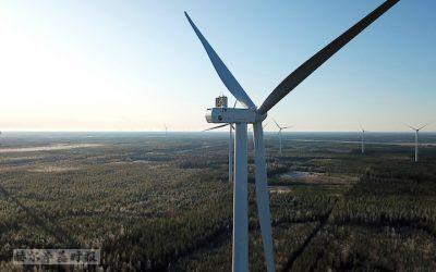 芬兰风电公司CPC将建设容量达192兆瓦的风电场,可为20万户家庭供电