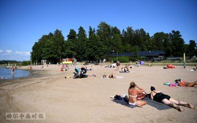 """芬兰今年的7月份""""异常温暖"""""""