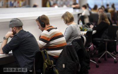 芬兰的国际学生人数上升