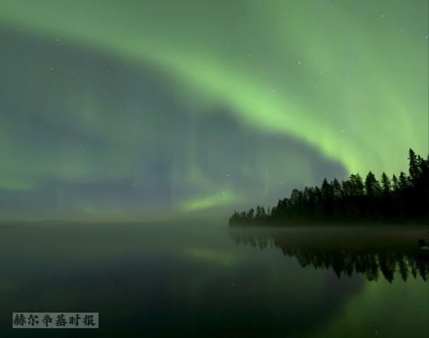 未来几天在芬兰南部也可能看到北极光