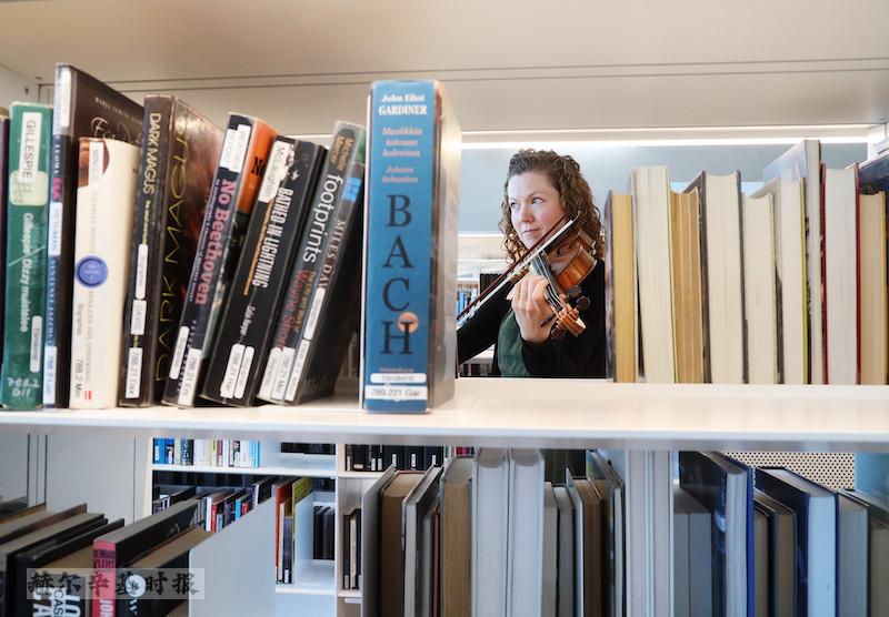 赫尔辛基爱乐乐团将于 11 月在赫尔辛基图书馆演出